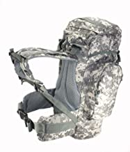 Explorer ACU Digital Camo 45L Rio Grande Hiking Military Style Tactical Backpack 24x18x8 (BigBackpackAm20ACU)