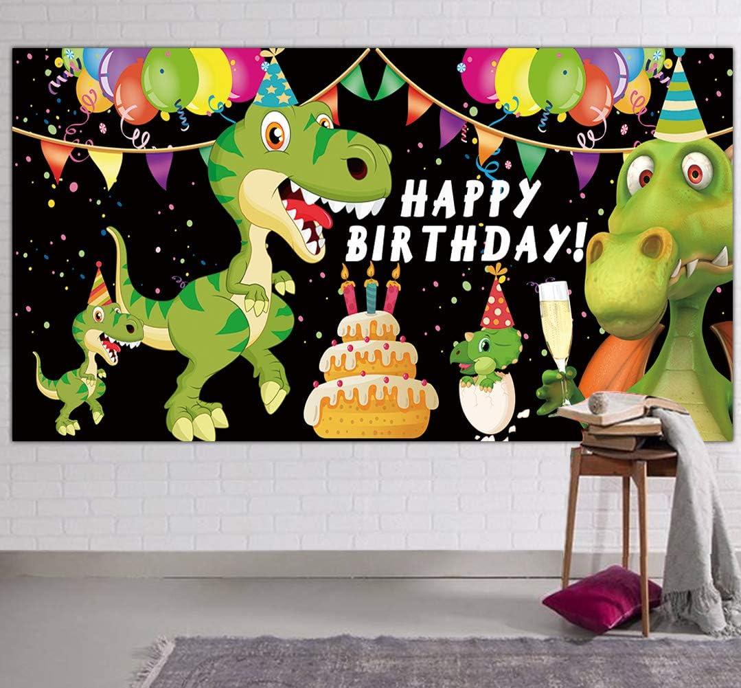 Large Dinosaur Happy Birthday Banner, Dinosaur Party Supplies De