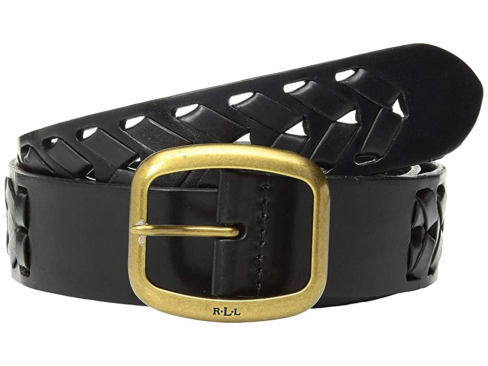 LAUREN Ralph Lauren Barrington Belt (Black) Women