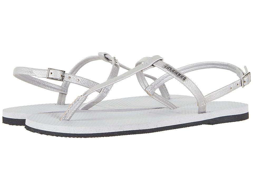 Havaianas You Riviera Sandals (Ice Grey) Women