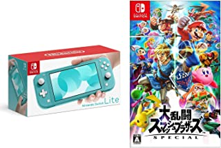 Nintendo Switch Lite ターコイズ + 大乱闘スマッシュブラザーズ SPECIAL - Switch セット