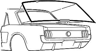 Rear Window Weatherstrip Cougar 1969-1970 Daniel Carpenter