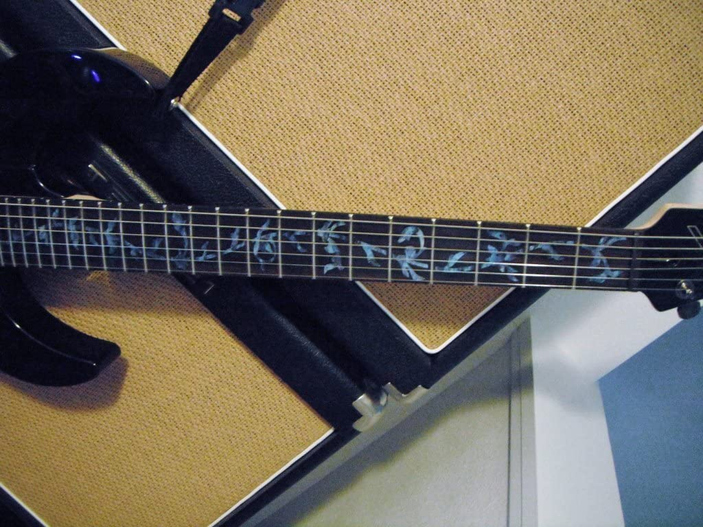 Abalone Blue Tree Of Life Inlaystickers Fret Markers for Guitars