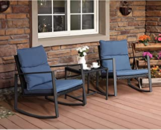 Best metal patio chairs that rock Reviews
