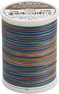 Sulky 500 yd 30 Weight Blendables Thread, Primaries