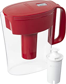 Brita 36094 Metro Pitchers, Red
