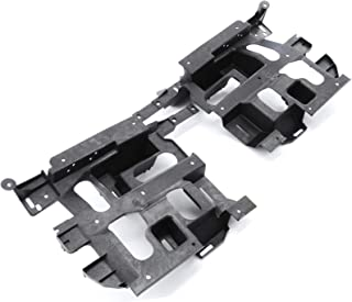 Red Hound Auto Headlight Mount Support Mounting Bracket Pair Set for Driver and Passenger Sides Compatible with Chevrolet (2003-2006 Avalanche 1500, 2003-2007 Silverado 1500 2500HD/3500)