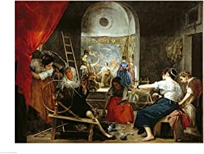 The Spinners by Diego Velazquez Art Print, 19 x 14 inches