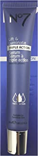 No .7 Lift & Luminate Triple Action Serum Moisture-Enhancing Fluid with High Concentrations of Hyaluronic Acid 1.69 Fl.OZ 1 Piece