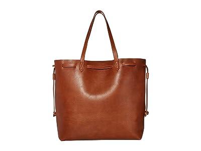 Madewell The Drawstring Transport Tote (English Saddle) Handbags