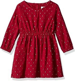 Baby Girls Casual Woven Dress
