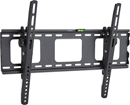 """VonHaus 32-70"""" Tilt TV Wall Mount Bracket with Built-In Spirit Level for LED, LCD, 3D, Curved, Plasma, Flat Screen Televisions - Super Strong 75kg Weight Capacity"""