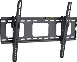 """VonHaus 32-70"""" Tilt TV Wall Mount Bracket with Spirit Level & Locking Bar for LED, LCD, 3D, Curved, Plasma, Flat Screen Televisions - Super Strong 75kg Weight Capacity"""