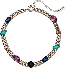 Jewel Design Collar Necklace
