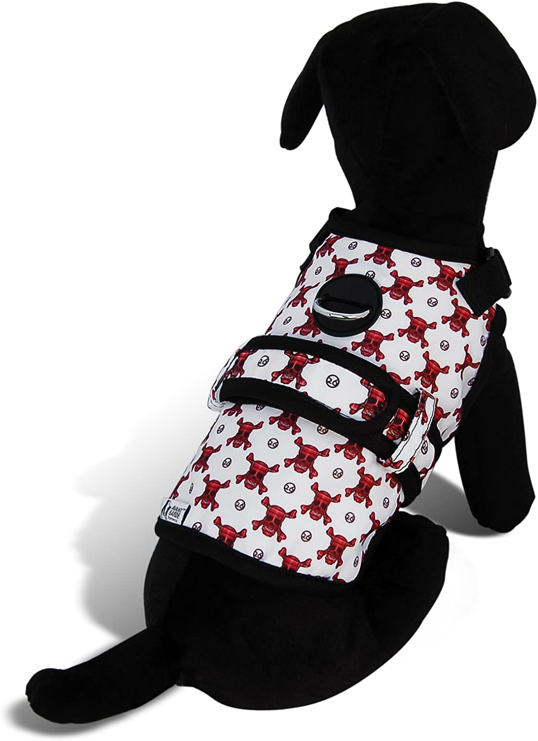 Avant Garde Dog Harness, Death Star, Large