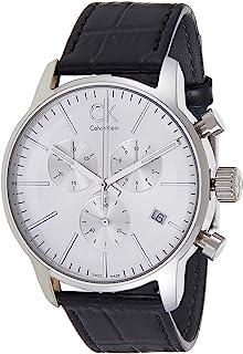 Calvin Klein Men's Leather Band Watch