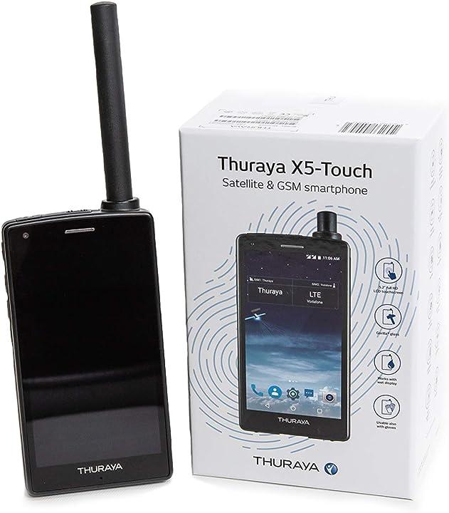 Telefono satellitare con nova sim e 170 unità B07YPTZY4K