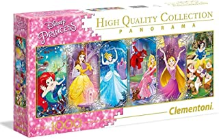 Clementoni 39444 Clementoni-39444-Disney Panorama Collection-Princess-1000 Pieces, Multi-Colour