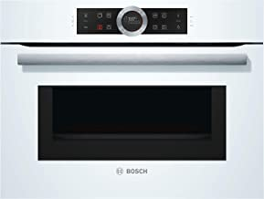 Bosch CMG633BW1 - Horno (Medio, Horno eléctrico, 45 L, 45 L, Blanco, Tocar)