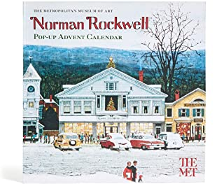 THE METROPOLITAN MUSEUM OF ART Norman Rockwell Pop-Up Christmas Advent Calendar