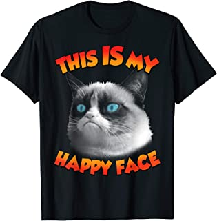 This IS My Happy Face Photo Graphic T-Shirt
