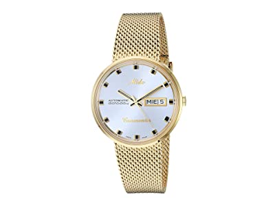 Mido Commander Gold Milanese Bracelet M842932113 (Silver) Watches