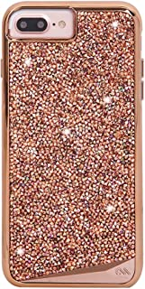 Case-Mate iPhone 8 Plus Case - BRILLIANCE - 800+ Genuine Crystals - Protective Design for Apple iPhone 8 Plus- Rose Gold