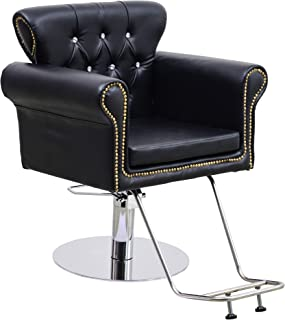 BarberPub Classic Hydraulic Barber Chair Antique Hair Spa Salon Styling Beauty Equipment 8899