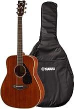 ヤマハ YAMAHA アコースティックギター FG850 熱く優しい歌声に寄り添うサウンド 木のぬくもりを感じられる味わい深いデザイン ソフトケース付き