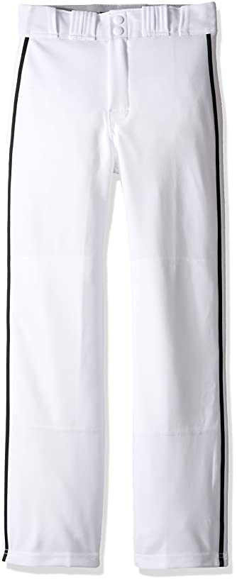 EASTON RIVAL 2 Baseball Softball Piped Pant | Youth | Piped | 2020 | Double Reinforced Knee | Elastic Waistband w/ 2 Color Internal Easton Logo | 2 Batting Glove Pockets | 100% Polyester