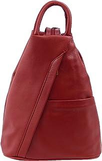Bolso mochila para mujer Rojo rojo Rojo