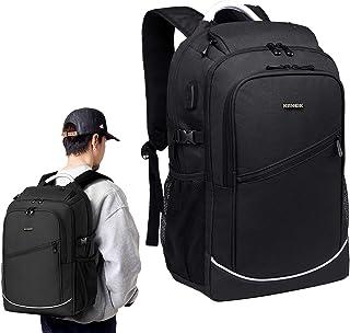 ビジネスリュック ビジネス バッグ バックパック リュックサック ュックサック パソコン バッグ 15.6インチ PC リュック USB充電ポート メンズ レディース ブラック 大容量 軽量 防水 人気 通勤 通学 カバン 旅行 出張