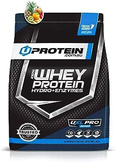Protein Powder | Uprotein 100% Whey Protein Hydro Plus Enzymes | Whey Protein Powder | Tropical Thunder, 2kg (50 Serves) |...