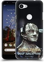 Official Star Trek Elim Garak Iconic Aliens DS9 Hard Back Case Compatible for Google Pixel 3a
