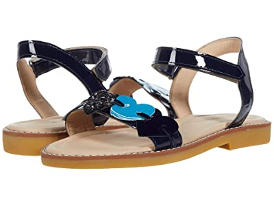 Elephantito Caro Cuore Sandal (Toddler/Little Kid/Big Kid) (Blue) Girls Shoes
