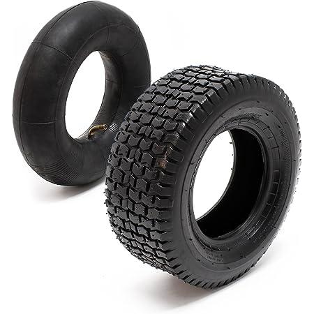 Reifen Für Den Aufsitzmäher 16x6 50 8 4pr Mit Schlauch Und Winkelventil Komplettrad Rasentraktor Baumarkt