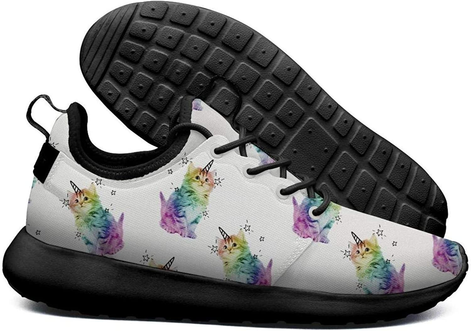 Heart Unicorn Black Casual shoes for Women News Wear-Resistant Air Running shoes