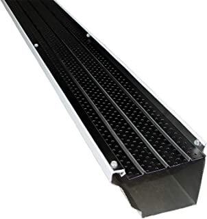 FlexxPoint 30 Year Gutter Cover System, Black Residential 5