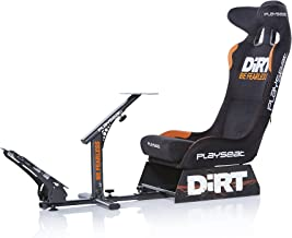 Playseat Evolution Dirt Edition Racing Video Game Chair for Nintendo Xbox Playstation CPU Supports Logitech Thrustmaster Fanatec Steering Wheel and Pedal Controllers