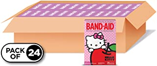 Band-Aid Brand Adhesive Bandages for Minor Cuts and Scrapes, Featuring Hello Kitty for Kids, Assorted Sizes 20 ct (Pack of...