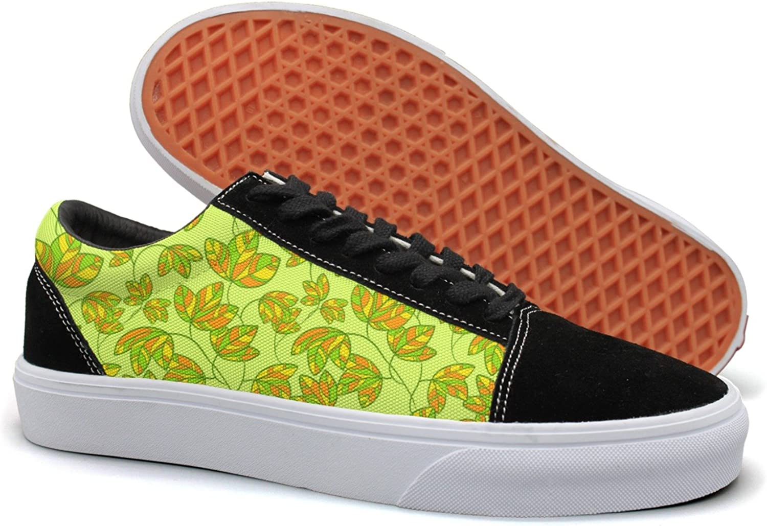 Green Plant Climber Small Womens Light Suede Canvas Deck shoes Low Top Cloth shoes