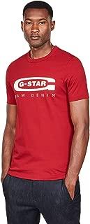 G-Star Raw Men's Graphic Logo 4 Short Sleeve Crew Neck T-Shirt