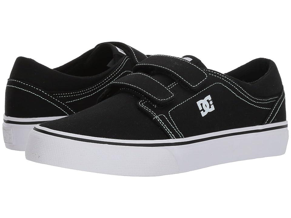 DC Kids Trase V TX (Little Kid/Big Kid) (Black/Green) Girls Shoes