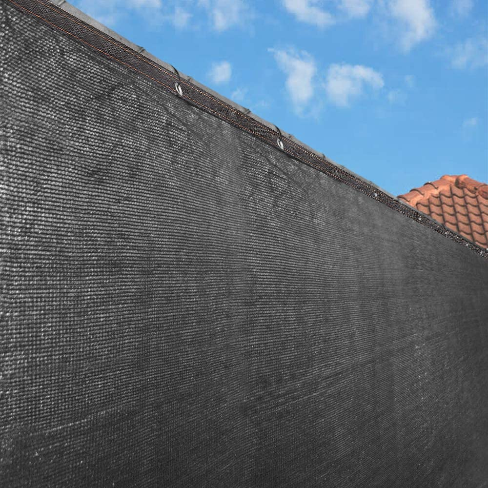 ZXMT Very popular 5' x 50' Black Fence Windscreen Screen wholesale Cover Privacy Shade