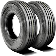 Set of 2 (TWO) Transeagle ST Radial All Steel Premium Trailer Tires-ST225/75R15 121/117M LRF 12-Ply