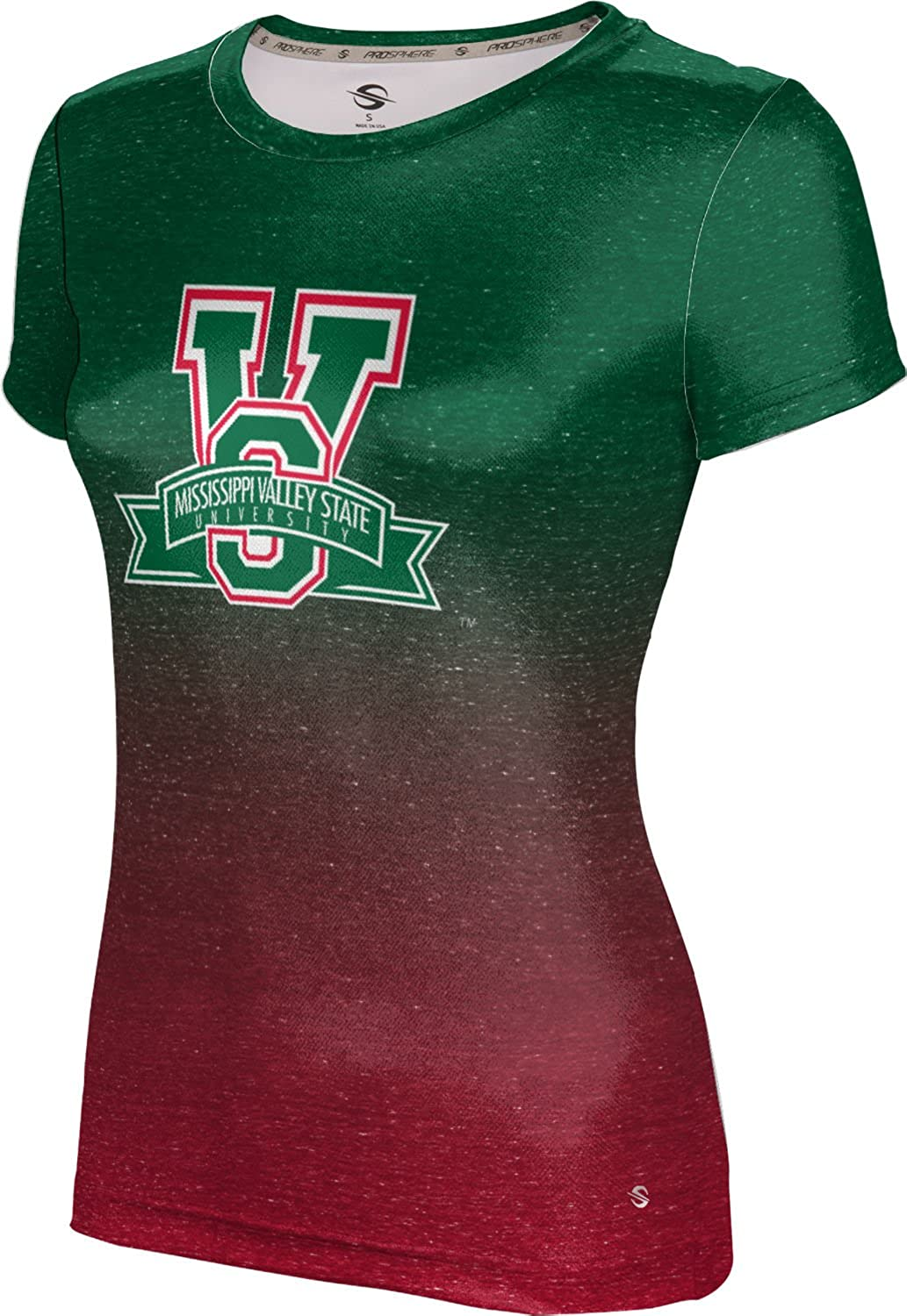 ProSphere Mississippi Valley State University Girls' Performance T-Shirt (Ombre)