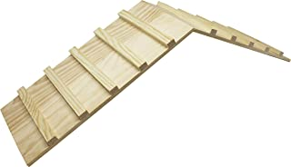 Wood Bridge for Small Animal Cage or Habitat - Guinea Pigs, Ferrets, Chinchillas, Hedgehog, Dwarf Rabbits and Other Small Animals