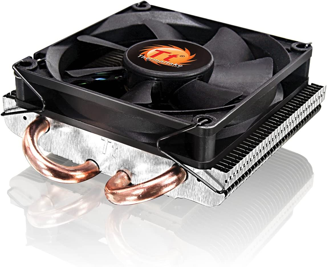 Thermaltake SlimX3 - Ventilador de PC (Enfriador, Procesador, 26.9 Db, 180 g, 92 x 99 x 36 mm, 4 Pin)