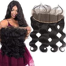 10A Ear To Ear 13x4 Body Wave Frontal Closure Brazilian Hair (16