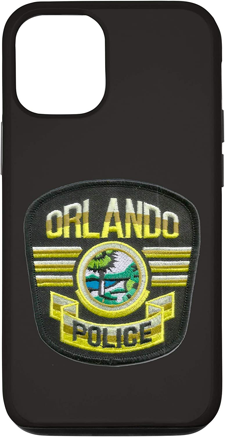 iPhone 12/12 Pro ORLANDO POLICE DEPARTMENT PATCH IMAGE Case